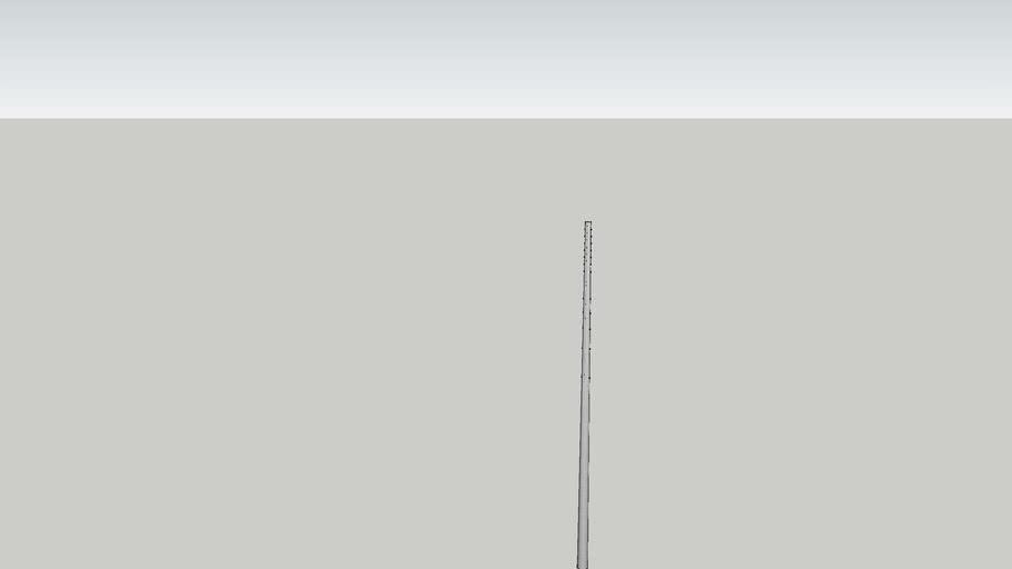 Poste de concreto de 35 pies de 300 y 500 daN