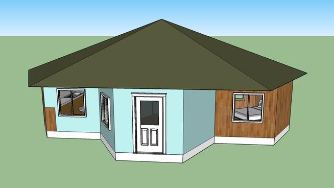 H13 - Hexagonal House