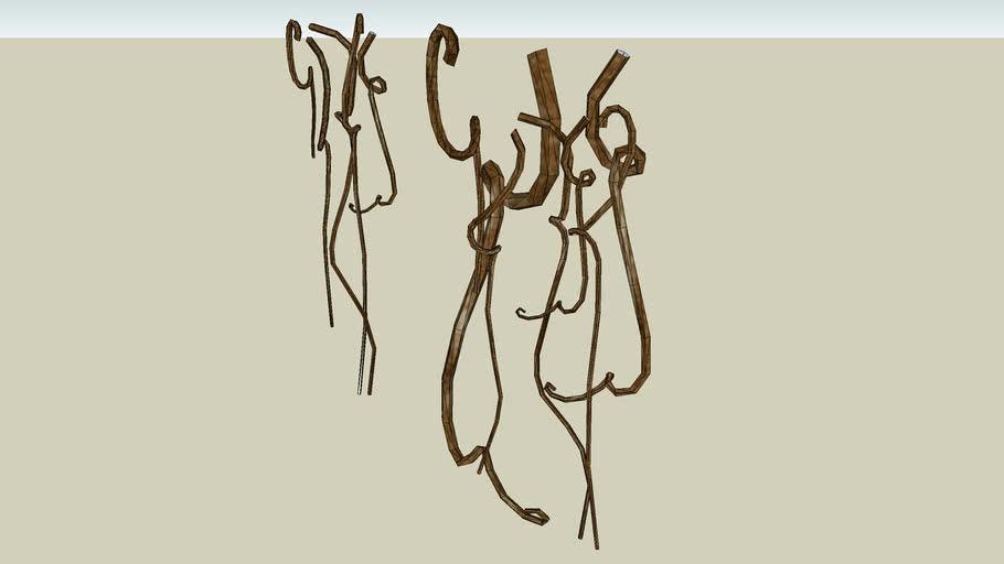 shriveled vines