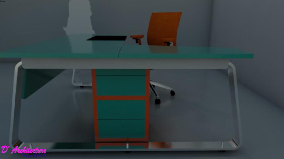 Meja Kantor 002