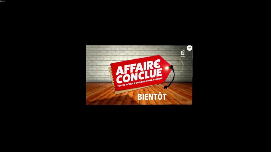 Affaire Conclue !!!