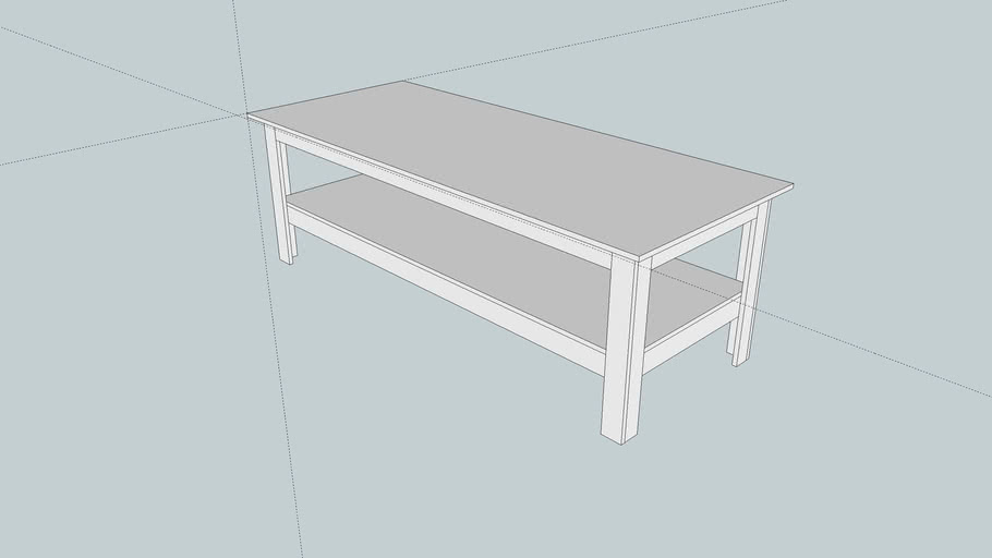 7' X 3' Wooden Work table