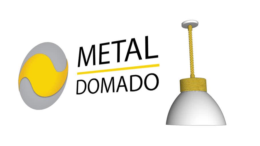 PENDENTE SISAL ROOT 5512 - METAL DOMADO ILUMINAÇÃO