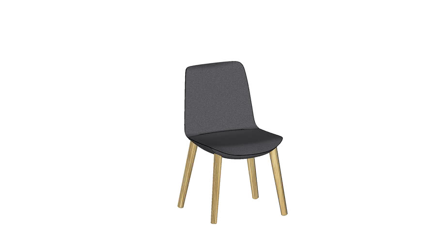 Conference chair by Bejot - LUMI LM WOOD 741