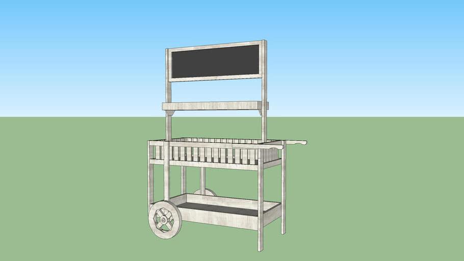 Chalkboard Market Cart