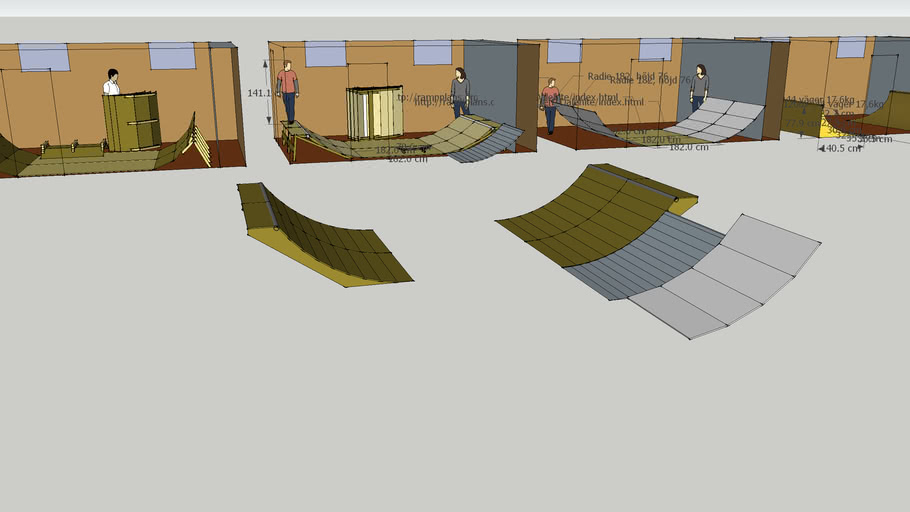 Basement ramps
