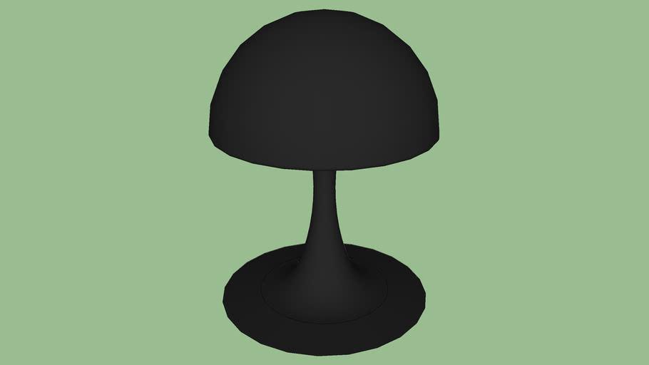 lampe originale noire