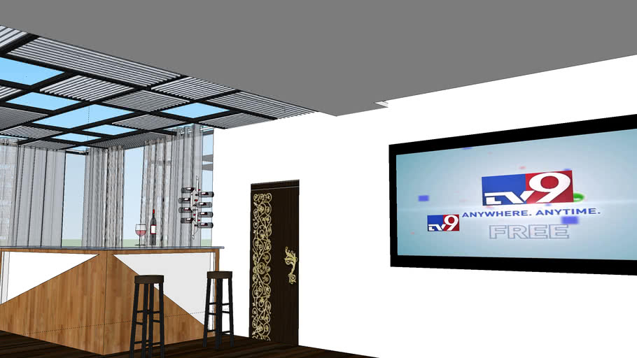 BARCOUNTER & HOME THEATER