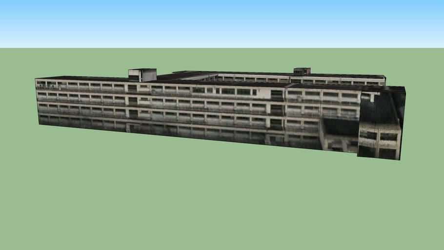 日本, 福冈县福冈市的建筑模型
