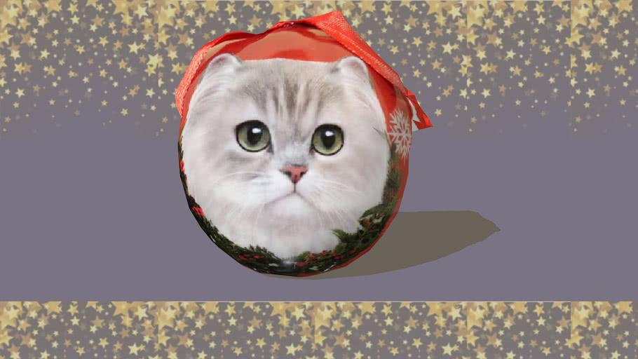 Ornament-Cat-Persian