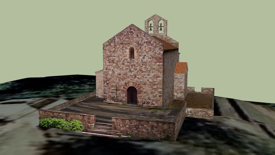 Ermita de Santa Mariá de Gallesc (Mollet-Barcelona)