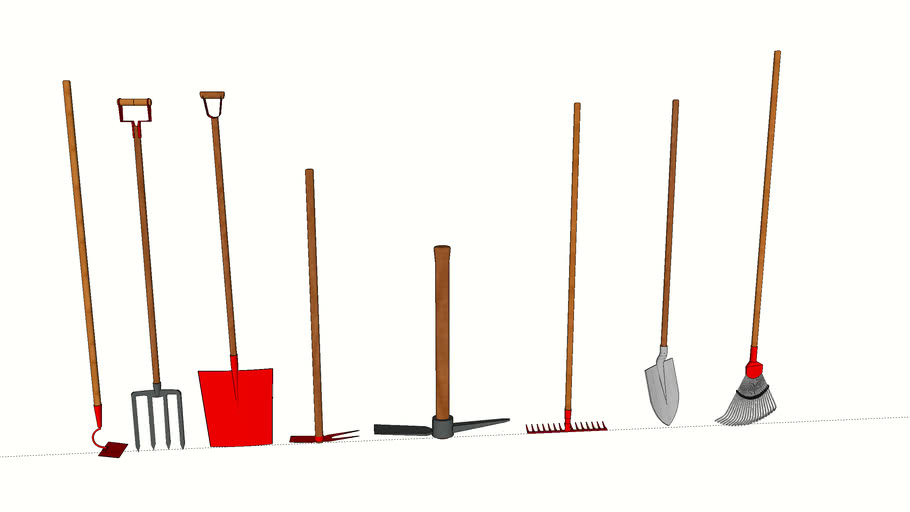 gardening tools | 3D Warehouse
