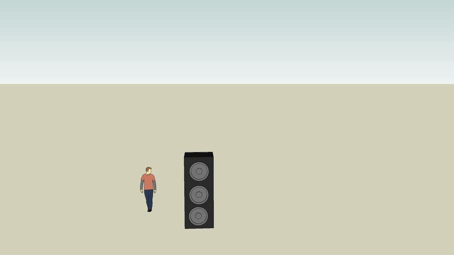 normal size speaker