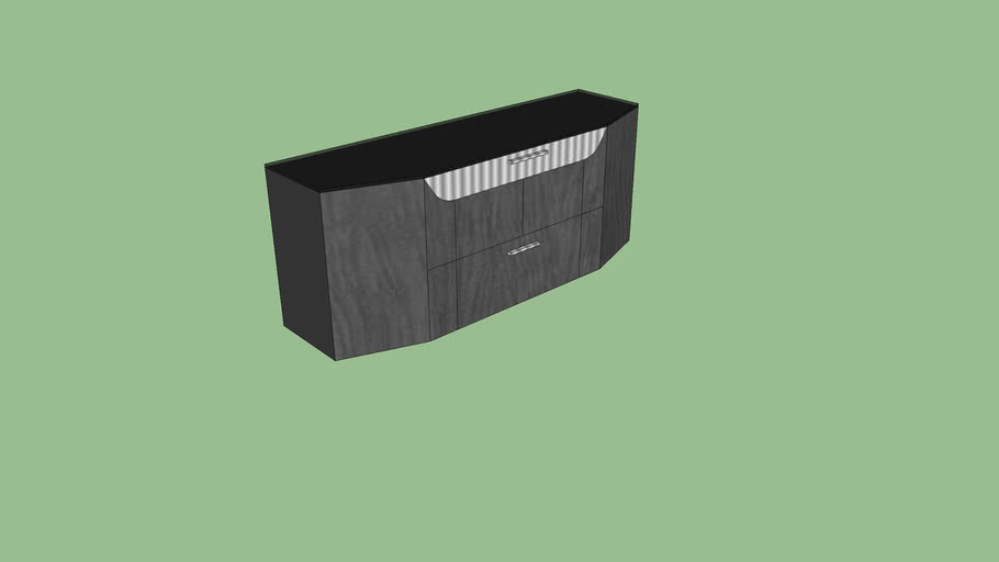 Haven Office Credenza by Paul Tarolli for Scandesign