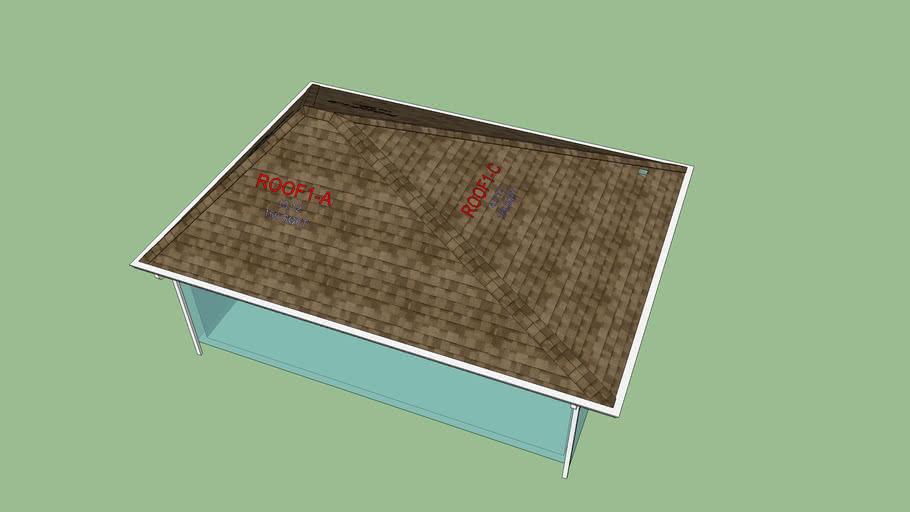 Asymmetric Hip Test Roof