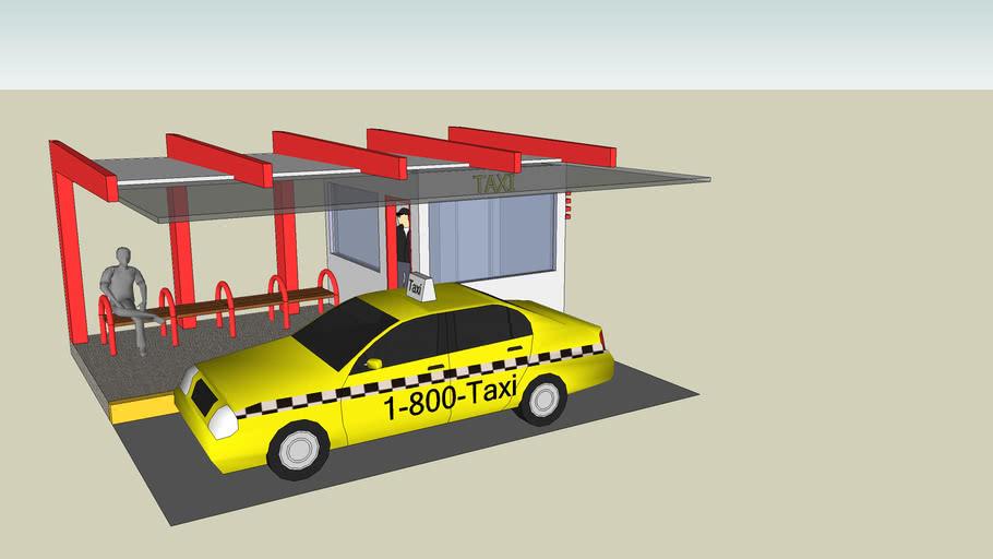 ponto de taxi