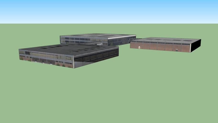 芝加哥伊利诺斯美国的建筑模型