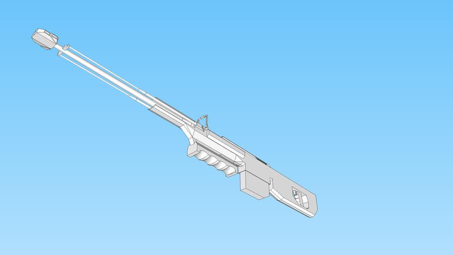 "MW157 ""TRIDENT"" .50cal Sniper Rifle"