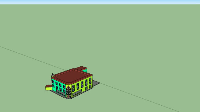 small office building