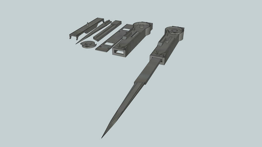 Assassin S Creed Hidden Blade 3d Warehouse