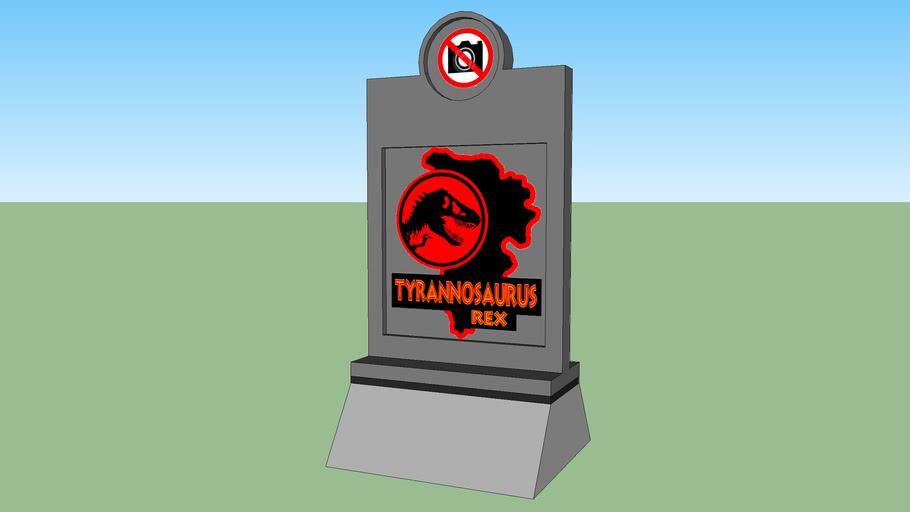 Jurassic Park Paddock Tyrannosaurus Rex