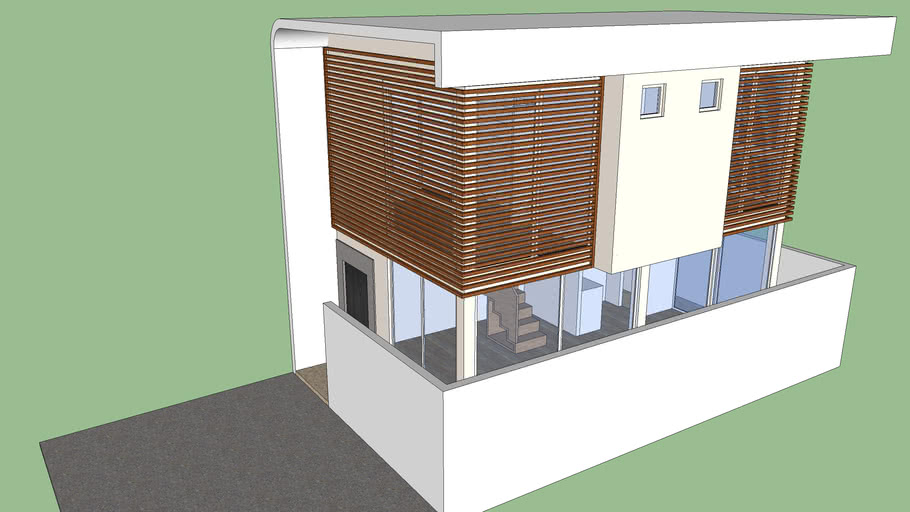 Two Storey Small House 3d Warehouse