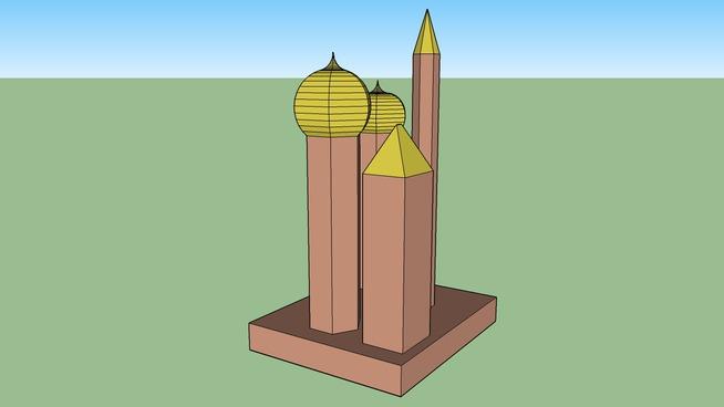 Many Minarrets