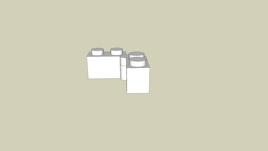 2 Brique de LEGO 2x2