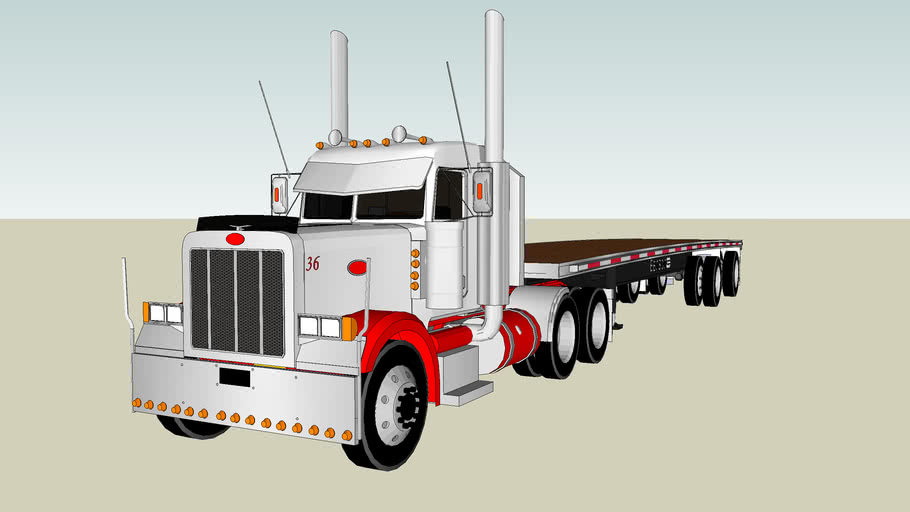 2004 Peterbilt 379 DayCab- With Trailer