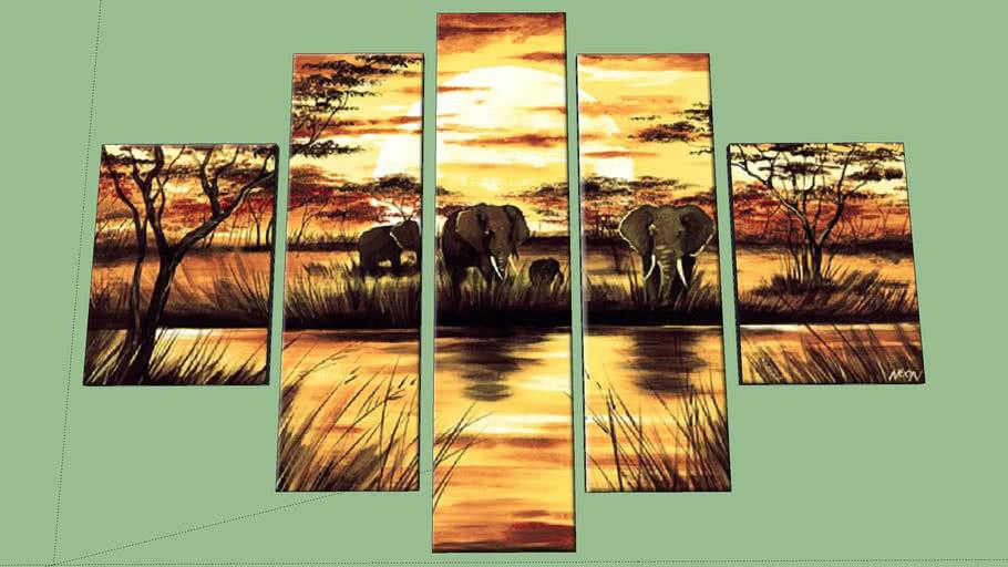 Elefantes- Elephants