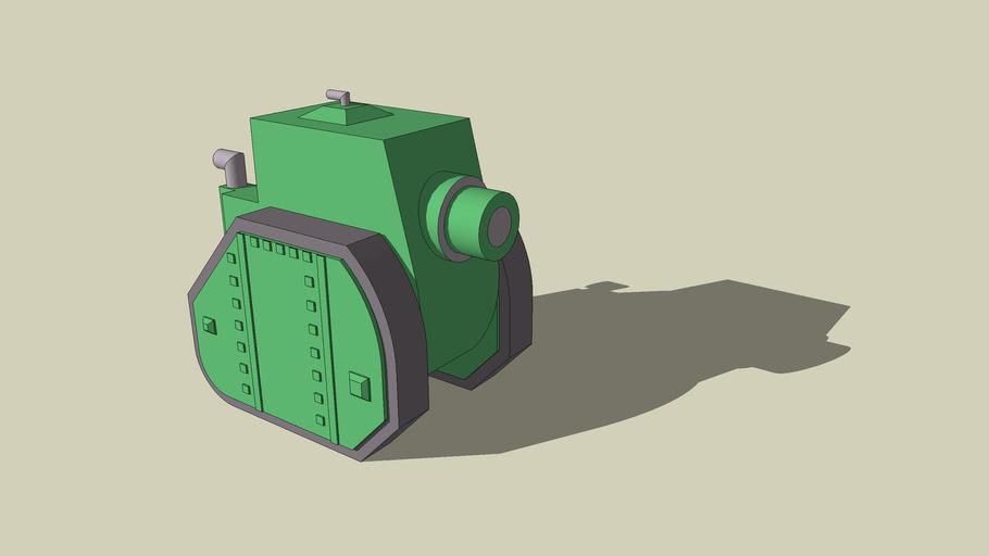 Green Earth Medium Tank. (Version 2.0)
