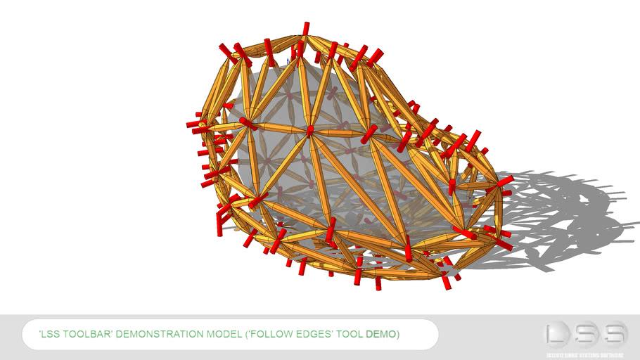 Follow Edges Tool Demo Model