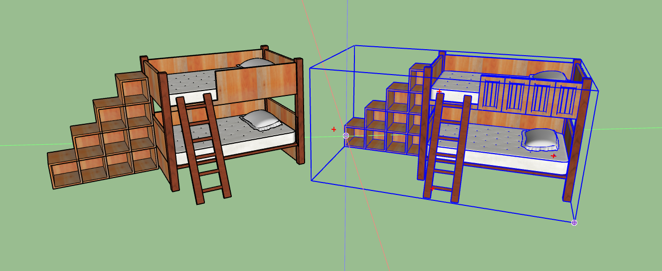 Kid's Bunkbeds with Shelves