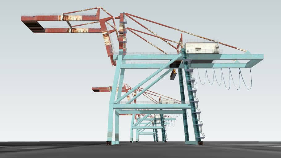 高雄 旗津 吊車 // Harbour Cranes, Kaohsiung