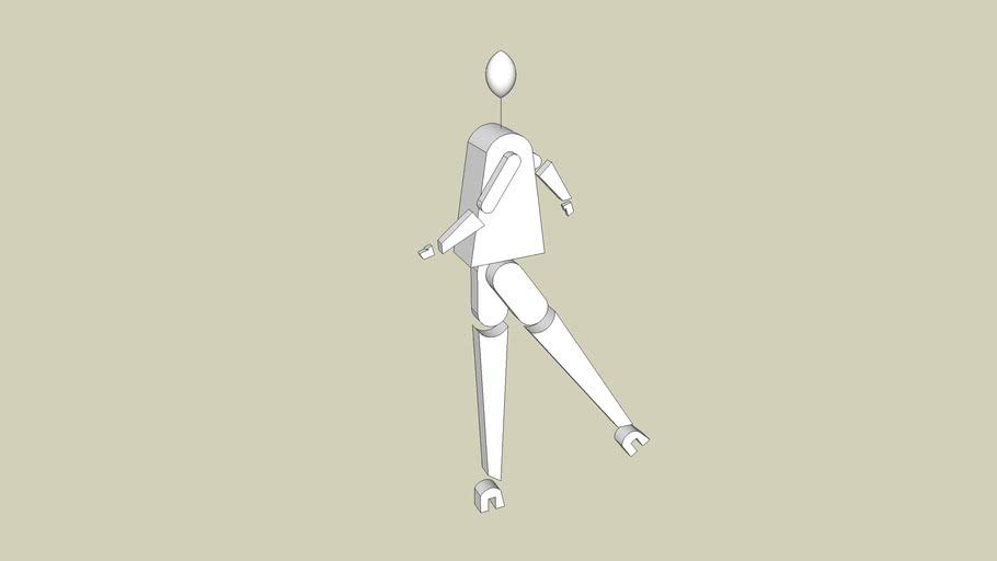 Fabio ct - Pezzi per Omino Gamba Lunga Robot