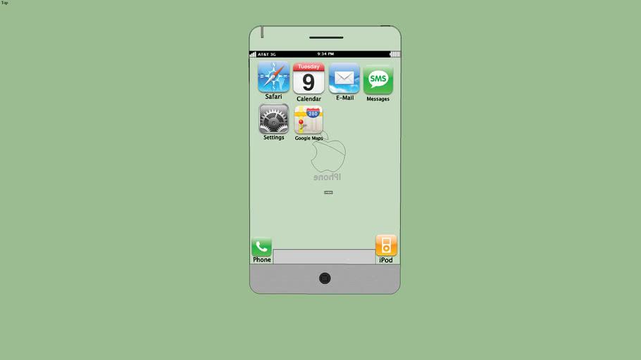 Future Concept iPhone | 3D Warehouse