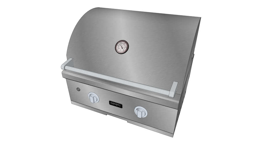 28″ C-Series Built-In Grill - Coyote Outdoor Living, Inc ... on Coyote Outdoor Living Inc id=33493