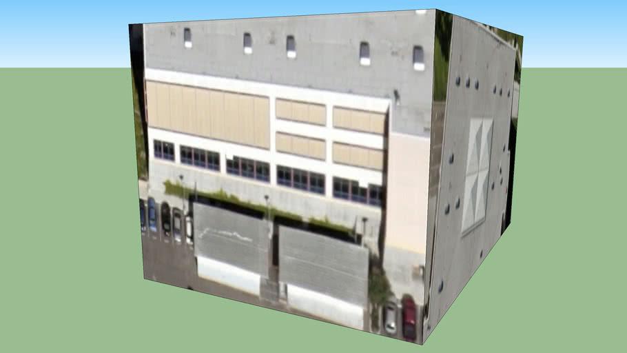 Gebäude in San Diego, Kalifornien, USA