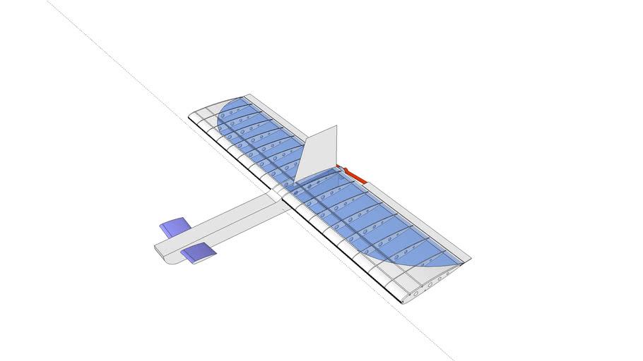 RC Airplane Zippity Canard