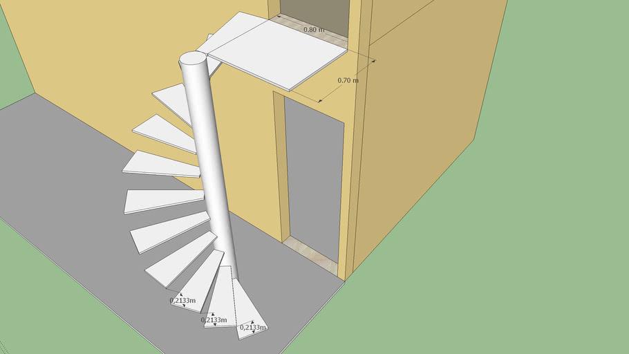 escada helicoidal silvio caires