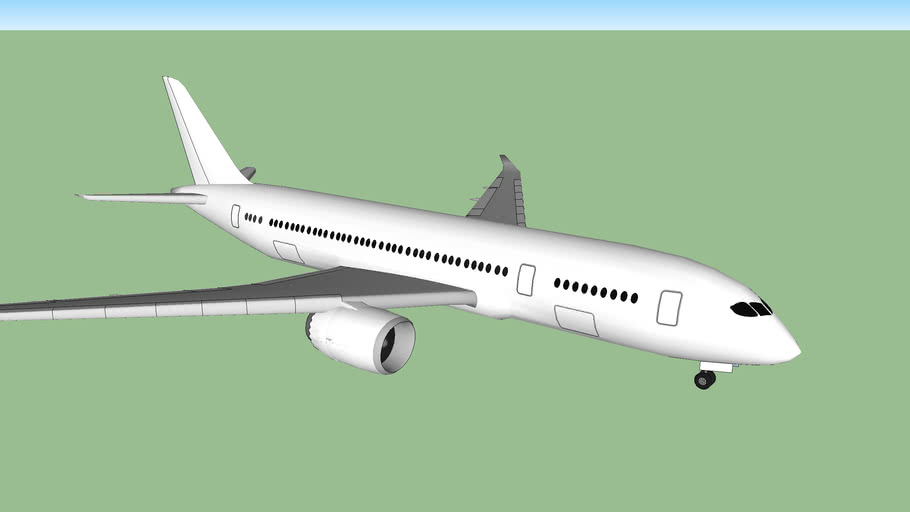 Boeing 787-8 Template