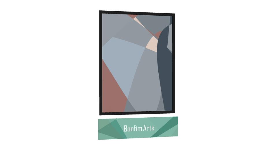 QUADRO BONFIM ARTS - Quadro Catavento 0A por Alex Bonfim