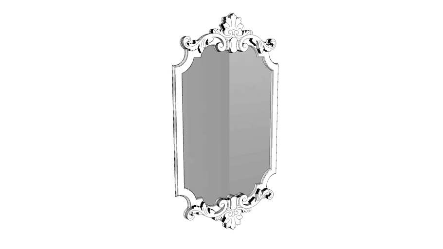 Espelho Lavanda Fresado