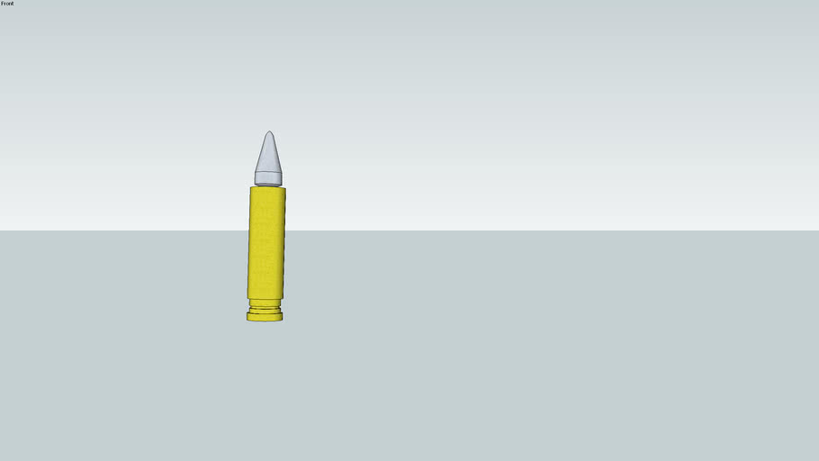 soft nosed bullet