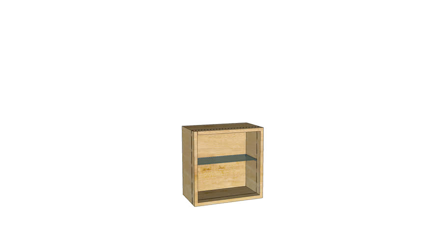 Mondeo Wall Cabinet H320_Unfinished