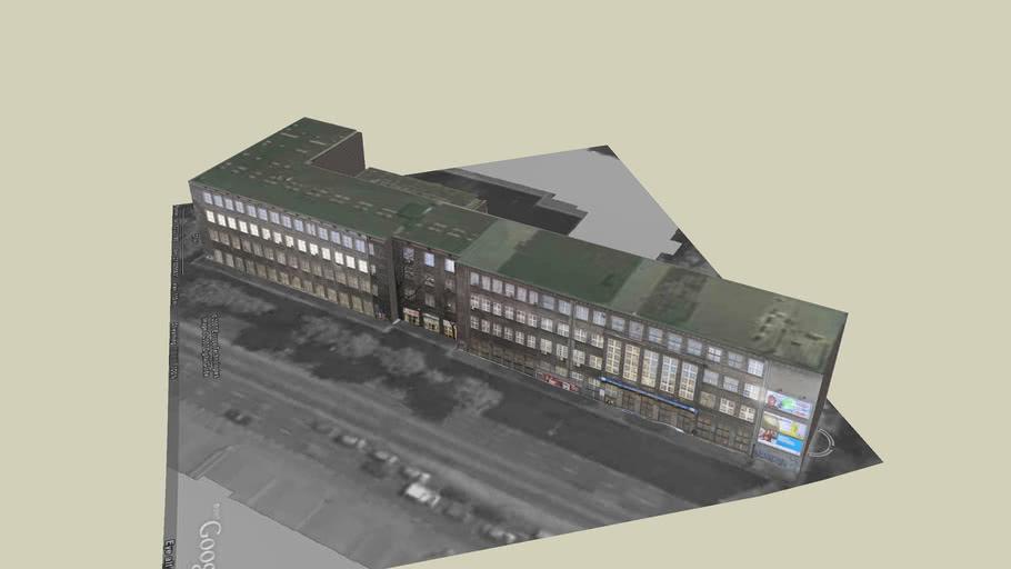 Gmach Wydziału MEiL (Building of Power and Aeronautical Engineering)