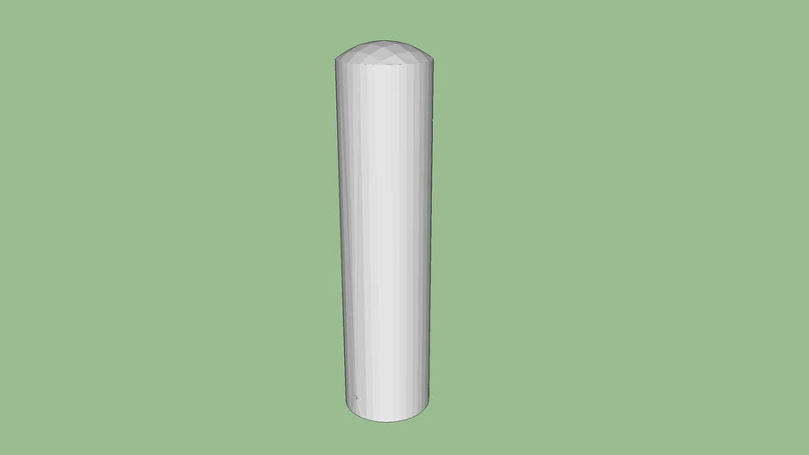 R-7305 Stainless Steel Bollard Cover