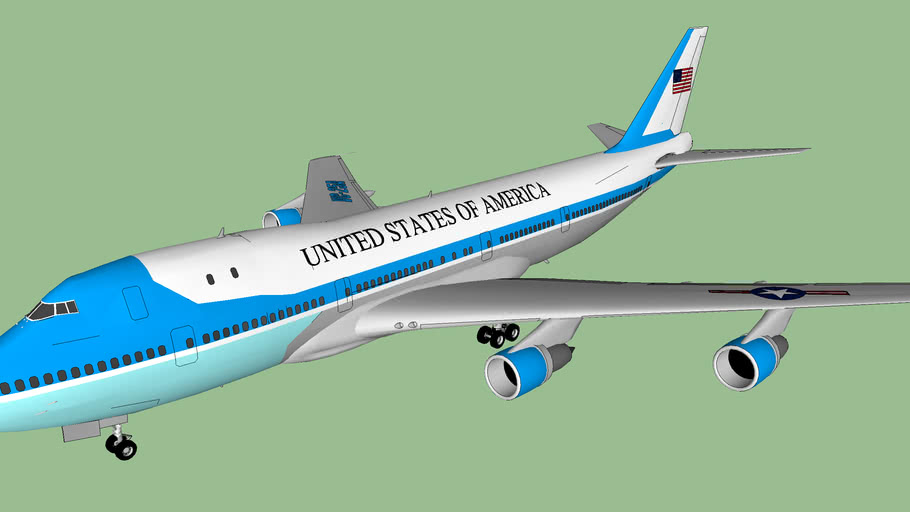 Air Force One (Current USA Presidential Aircraft)