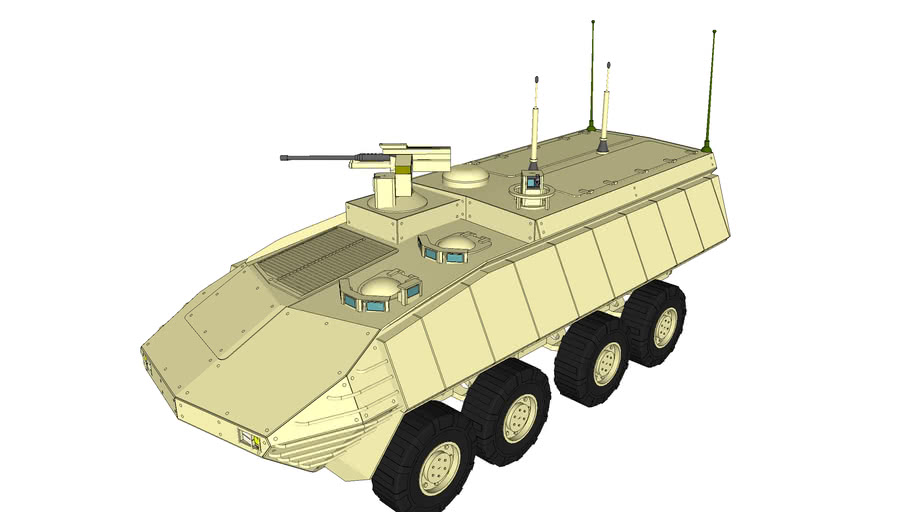 USMC - Marine Personnel Carrier - Command and Control