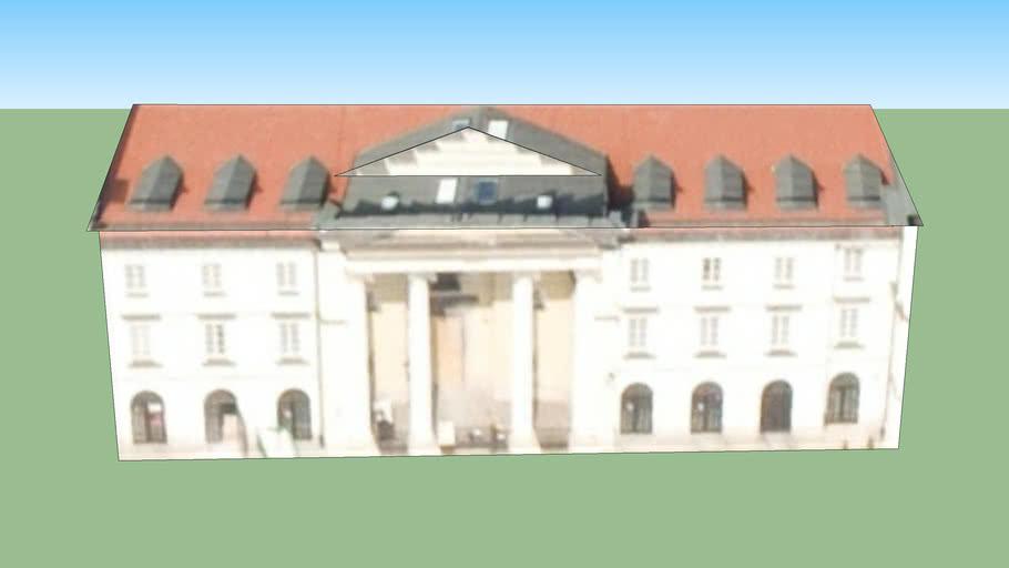 Budynek przy Warszawa, Polska